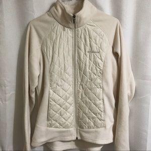 Columbia- Cream Thermal Coil Fleece Jacket (M)